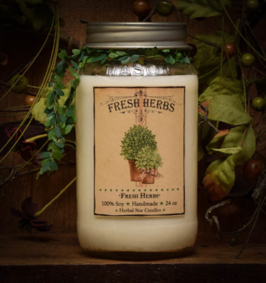 fresh herbs 24 oz jars