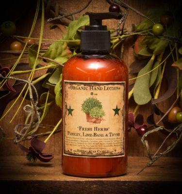 fresh herbs lotion