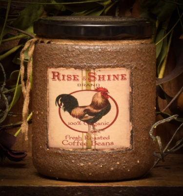 hen house 16 oz jar candle
