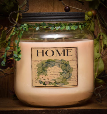 home 64 oz jar candle