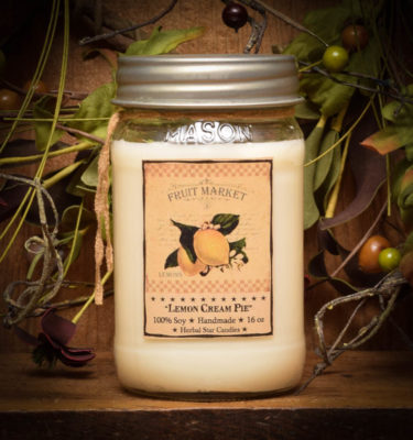 lemon pie 16 oz jar candle
