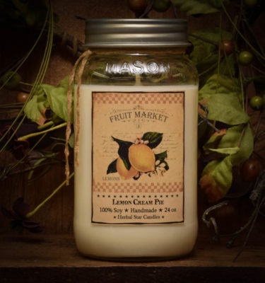 lemon pie 24 oz jar candle