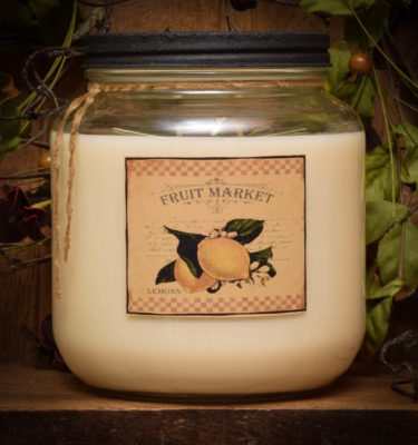 lemon pie 64 oz jar candle