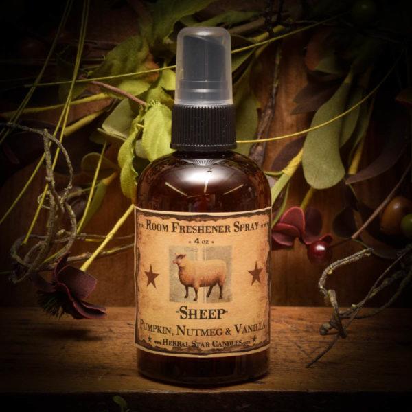 sheep room spray