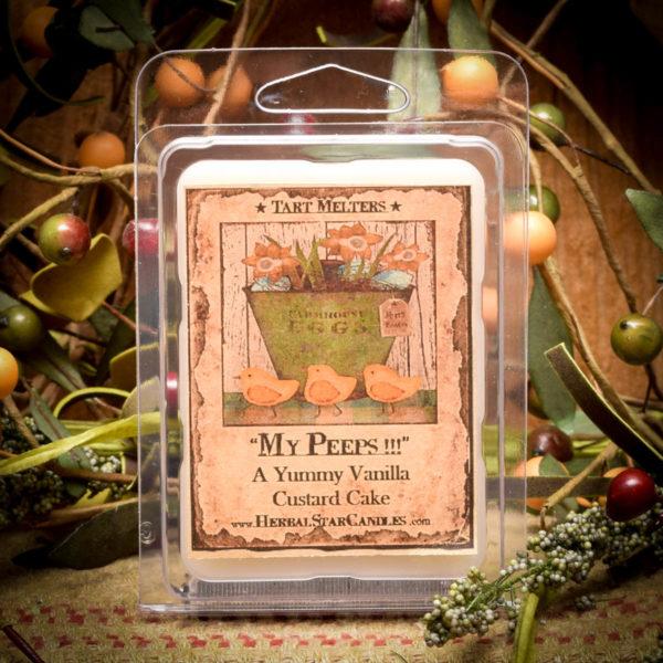 Vanilla Custard/My Peeps Mini Pack of 6 tarts