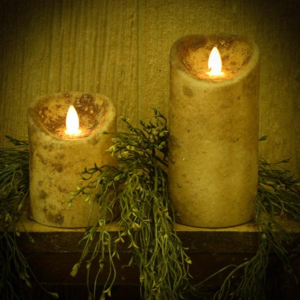 Cream Timer Pillar