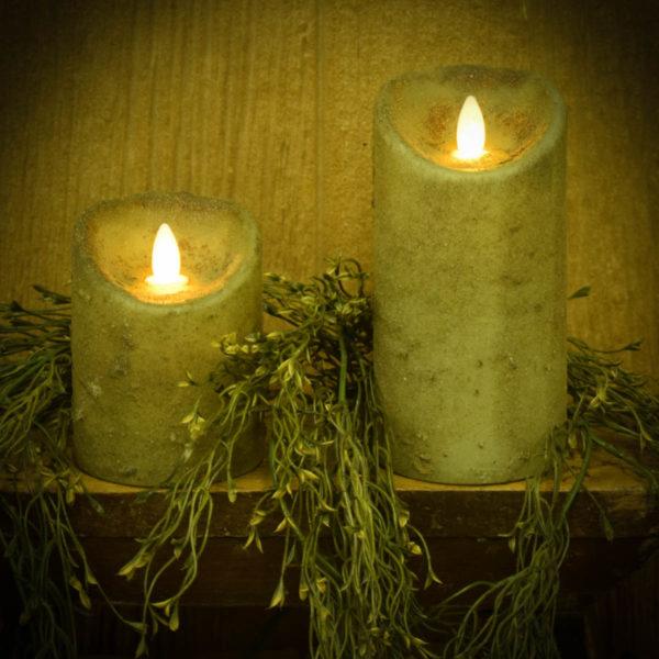 Herb Green Timer Pillars