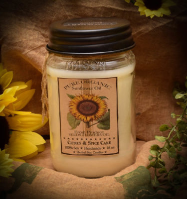 SUNFLOWER 16 OZ JAR