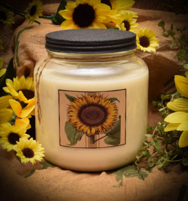 SUNFLOWER 64 OZ JAR