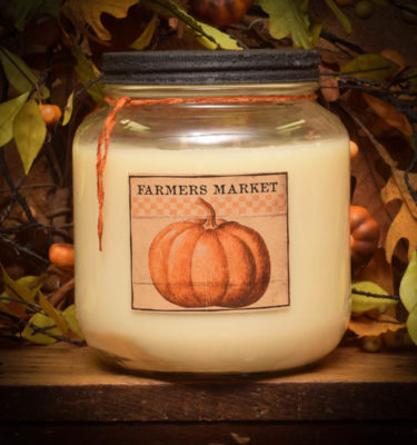 Pumpkin & Maple Scones 64 oz jar candle