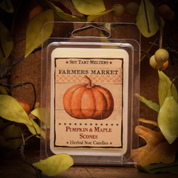 Pumpkin & Maple Scones Mini Tarts