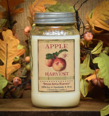 spiced apple harvest 24 oz jars