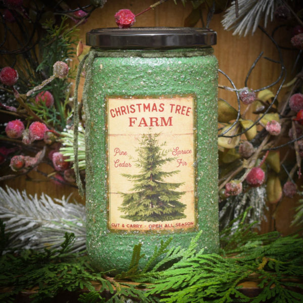 Pine Star Shine 24 oz Jar Candle
