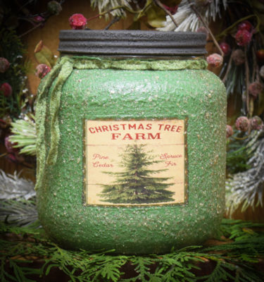 Pine Star Shine 64 oz Jar Candle