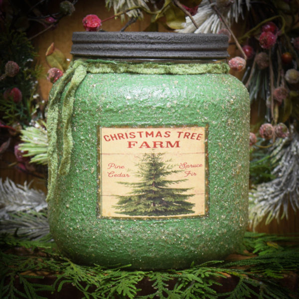 Pine Star Shine 64 oz Jar Candle
