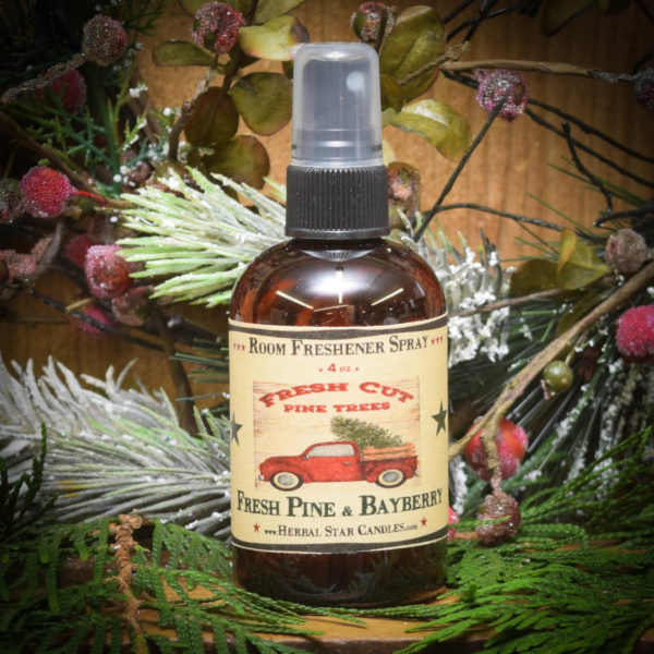 fresh pine and bayberry room spray