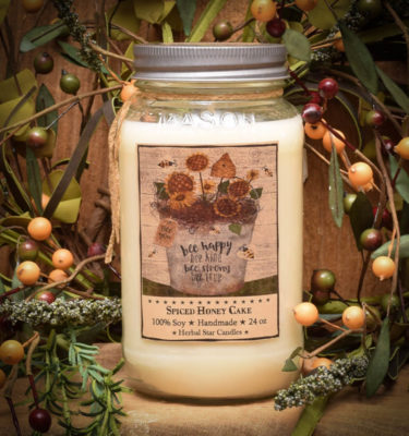 Spiced Honey Cake 24 oz Jar Candle