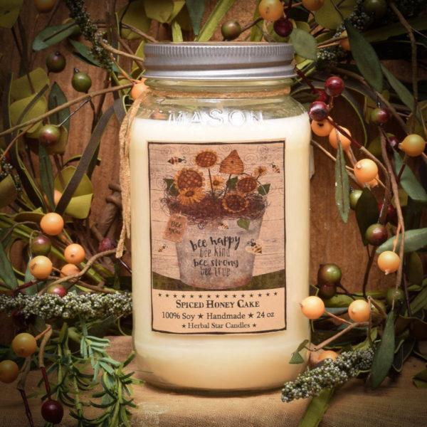 Spiced Honey Cake 24 oz Jar Candle