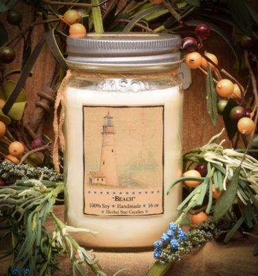 Beach 16 oz Jar Candle