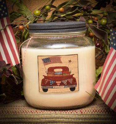 Farmhouse Cinnamon 64 oz Jar Candle