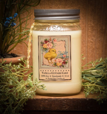 Vanilla Custard 16 oz Jar Candle