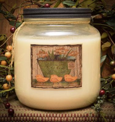 Vanilla custard/My Peeps 64 oz Jar Candle