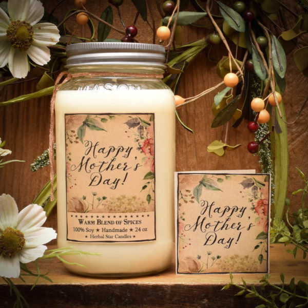 Mother's Day Jar Candle