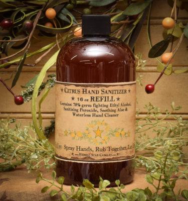 16 oz refill Sanitizer
