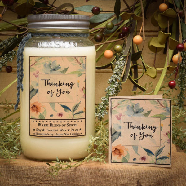 Thinking of You Scentiment Candle