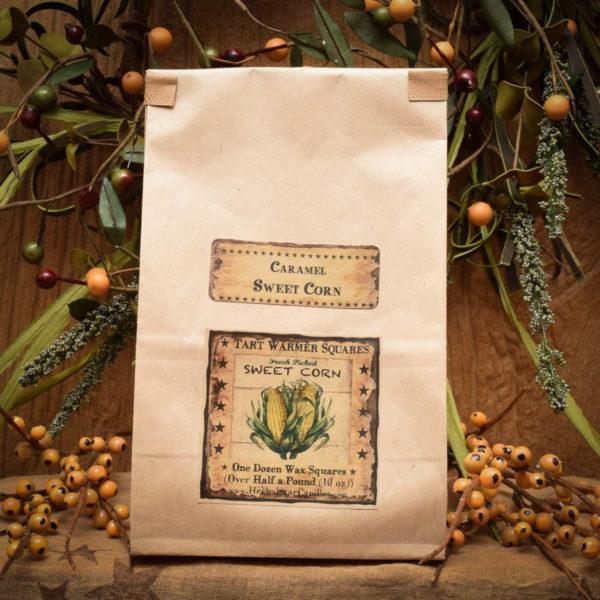 Caramel Sweet Corn bag of 12 tarts