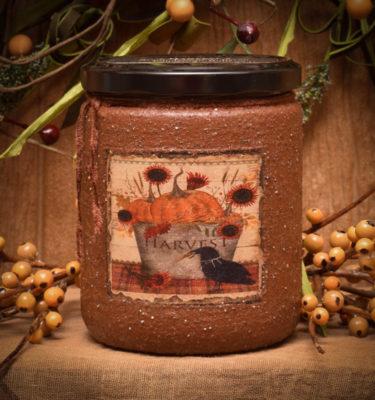 Harvest 16 oz jar candle