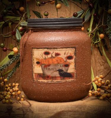 Harvest 64 oz Jar candle