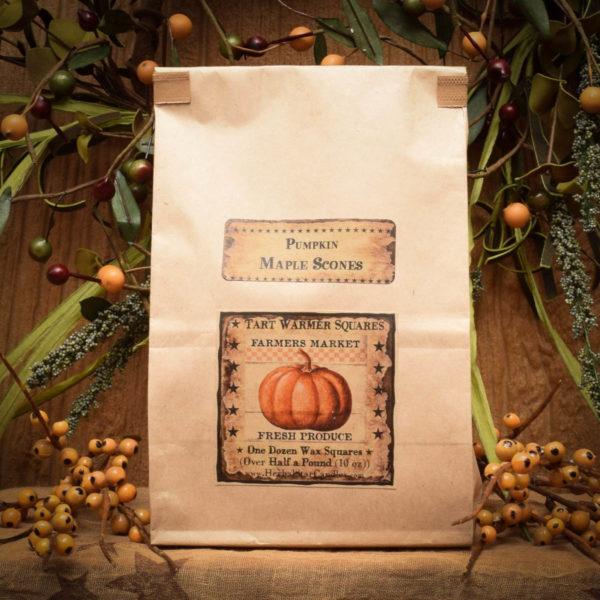 Pumpkin and Maple Scones bag of 12 tarts