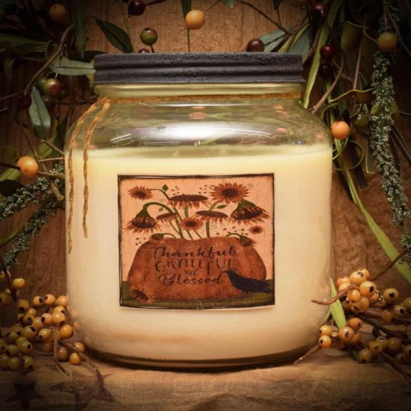 Praline Nut Cluster 64 oz jar candle