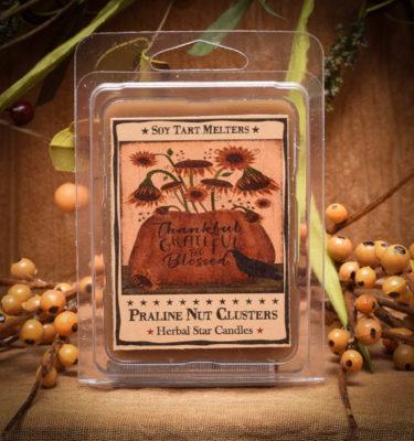 Praline Nut Cluster mini pack of 6 tarts