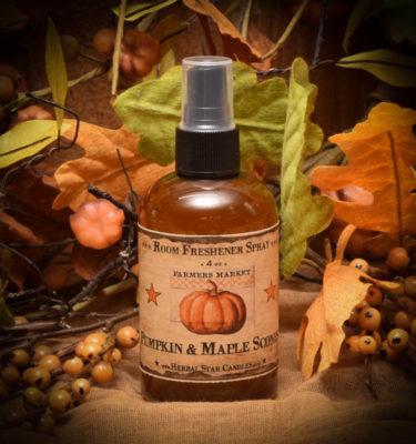 Pumpkin and Maple Scones room spray