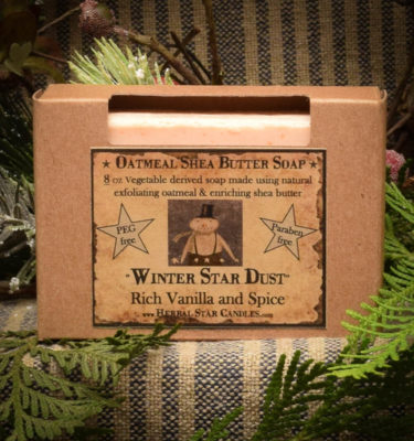 Winter Star Dust bar soap