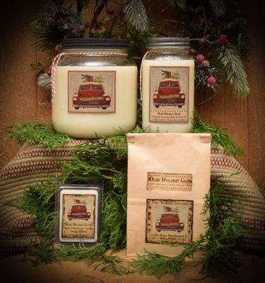 Olde Holiday Glow Mason Jar Collection