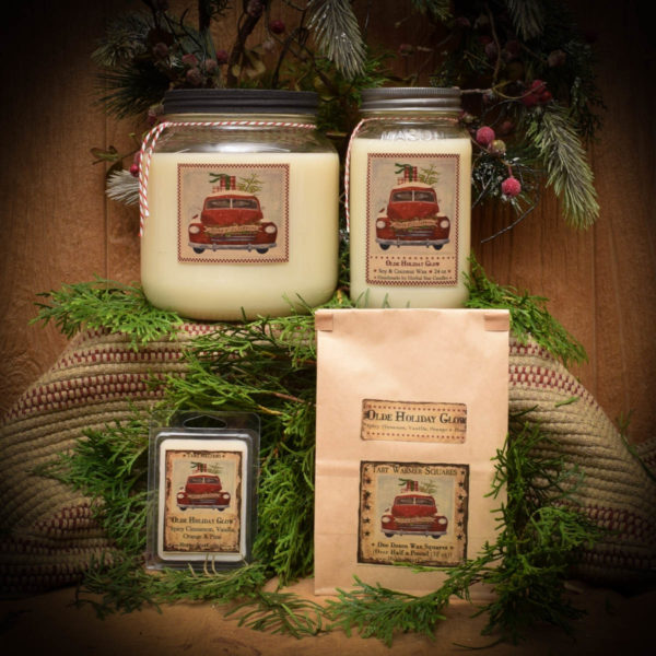 Olde Holiday Glow Mason Jar Collection