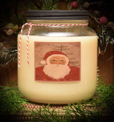 Old Santa Cinnamon Mason Jar Candle-64 oz