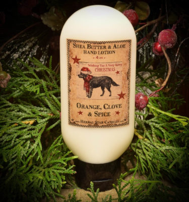 Orange Clove 4 oz lotion