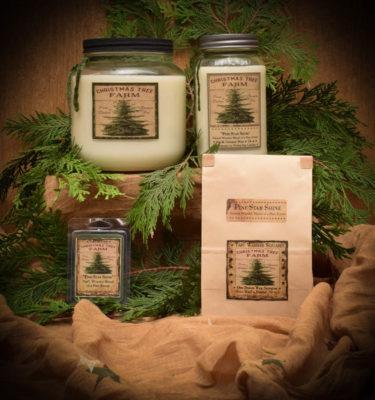 Pine Star Shine Mason Jar Candle collection