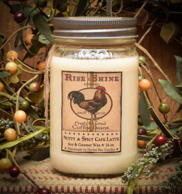 Hen House Cafe 16 oz Jar Candle