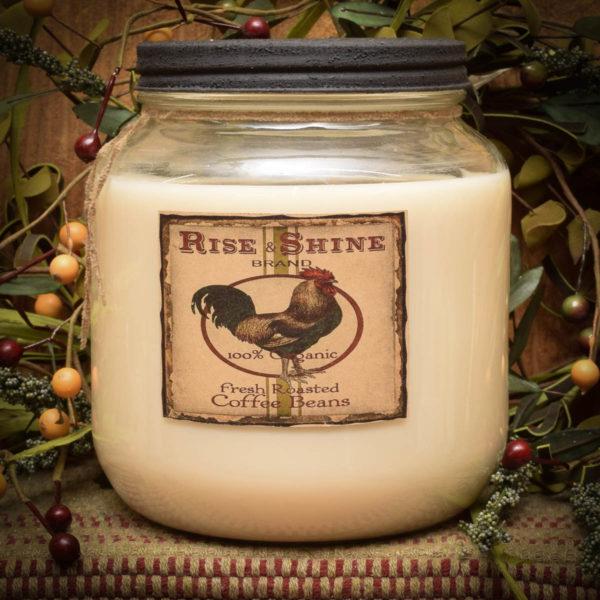 Hen House Cafe 64 oz Jar Candle