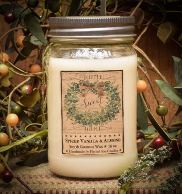 Home 16 oz Jar Candle