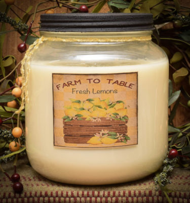 Lemon Daisy 64 oz Jar Candle