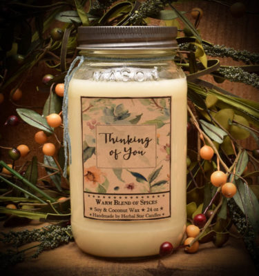 Thinking of You Jar Candle