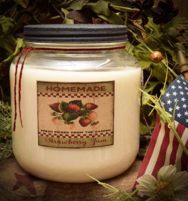 Strawberry Shortcake 64 oz Jar Candle
