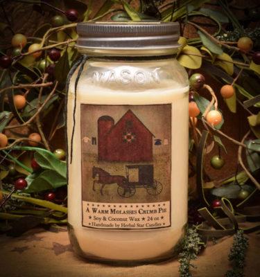 Shoo Fly Pie 24 oz Jar Candle