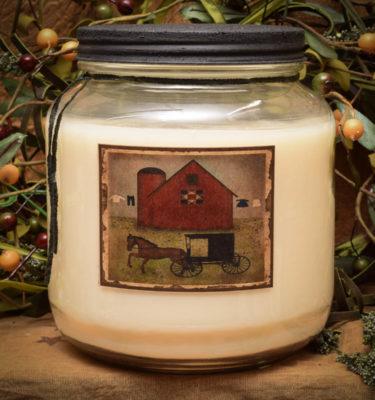 Shoo Fly Pie 64 oz Jar Candle